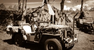 Military camp with lots to see. Soldiers, military transport, and freedom ;-) - Liberation Festival / Brielle/NL